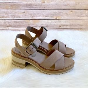 Timberland Violet Marsh X Band Taupe Sandals